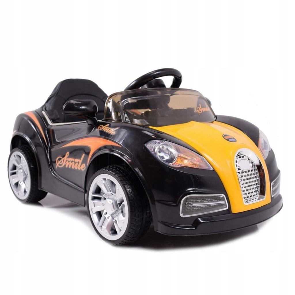 Auto typu ROADSTER dzieci czarny