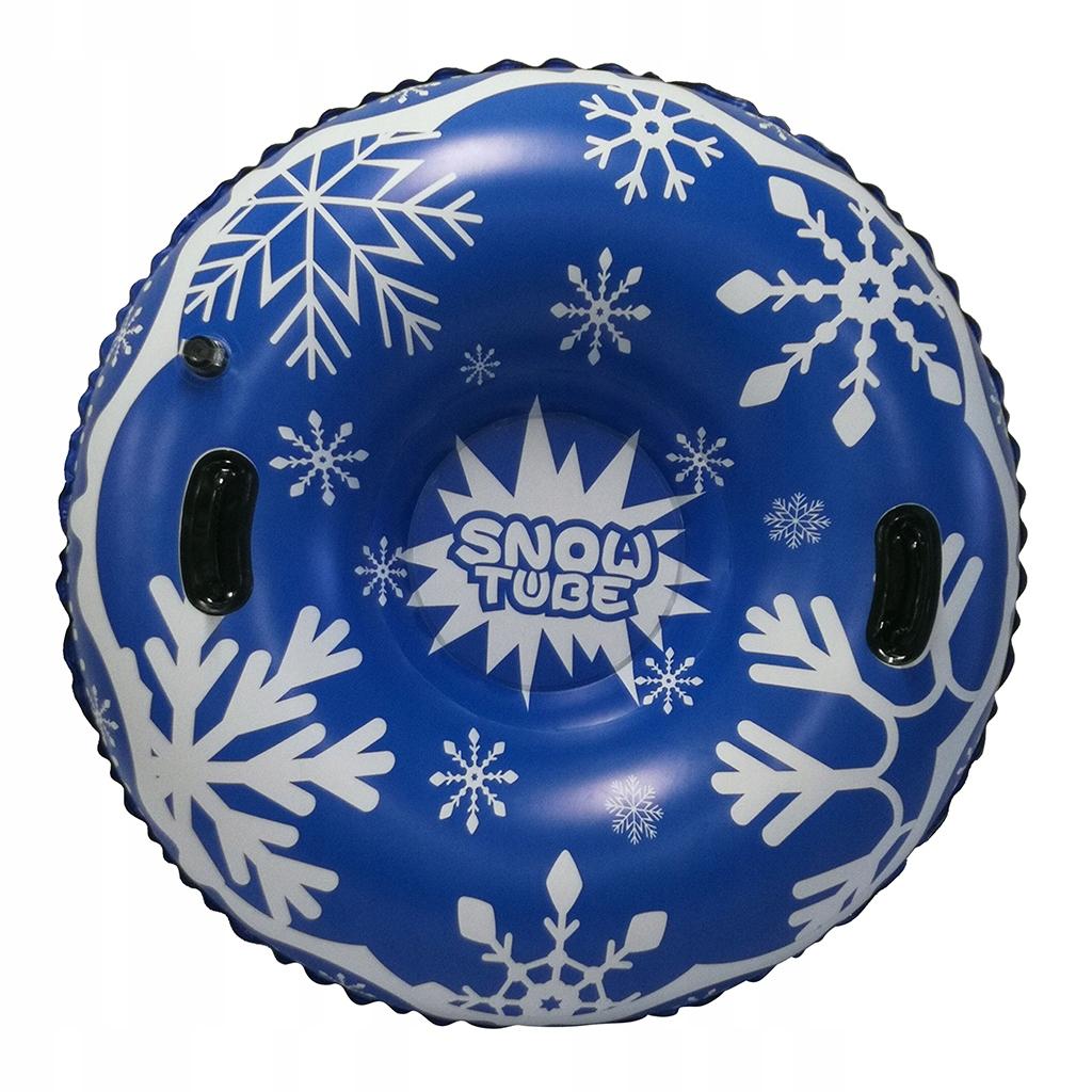 Nadmuchiwana rura śnieżna - niebieski