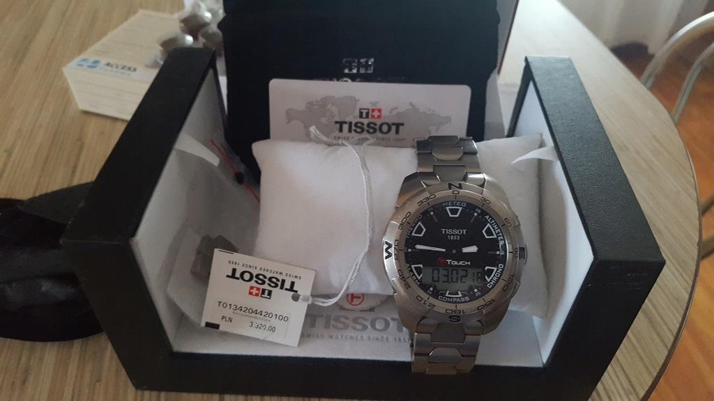 Zegarek Tissot T Touch Expert T0134204420100 Tissot