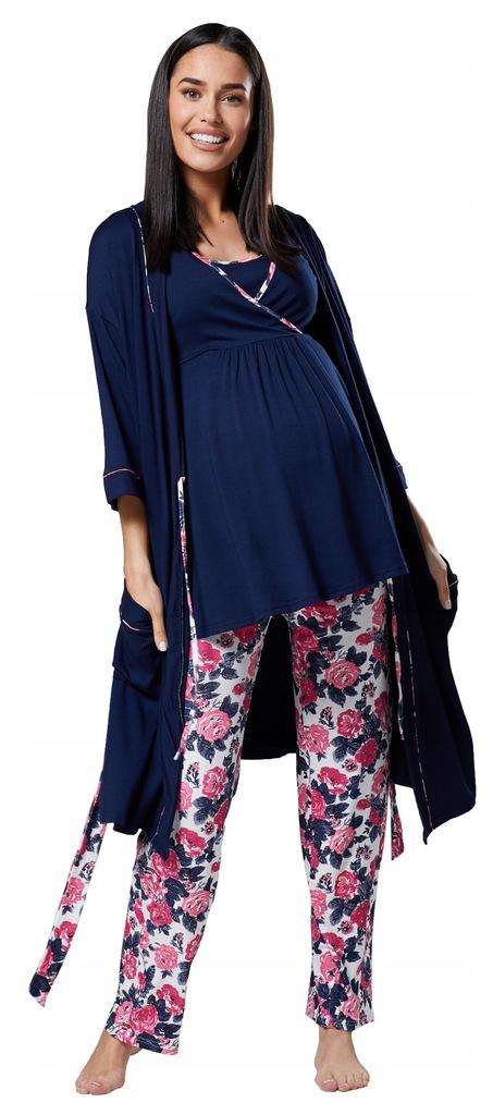 Zestaw: piżama & szlafrok 558