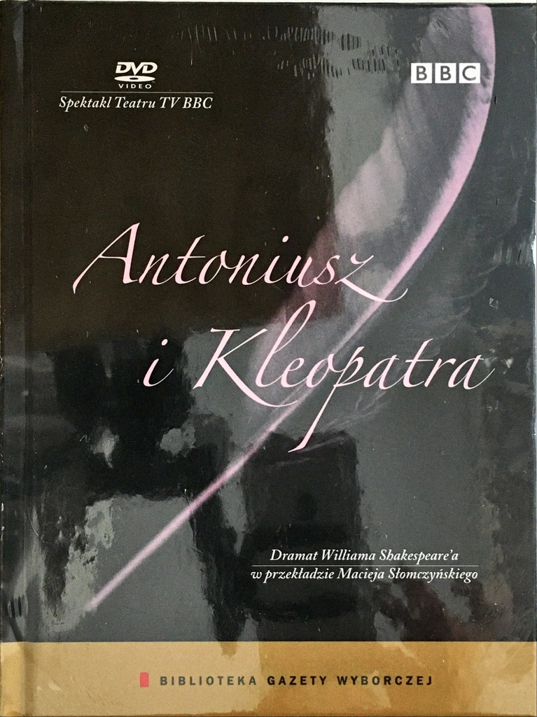 DVD ANTONIUSZ I KLEOPATRA