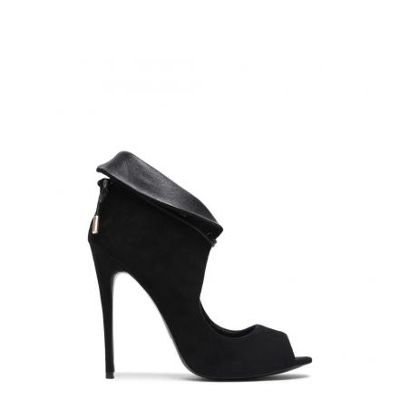 Sandały szpilki czarne r40
