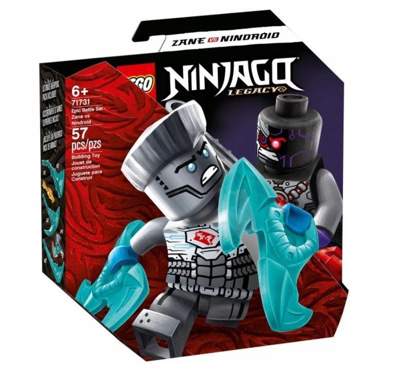 Klocki Ninjago Epicki zestaw bojowy Zane Nindroid