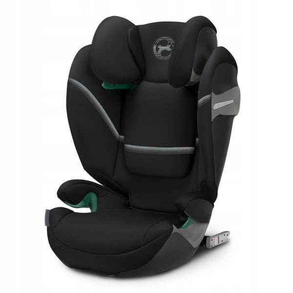 CYBEX SOLUTION S-FIX DEEP BLACK FOTELIK 15-36 kg