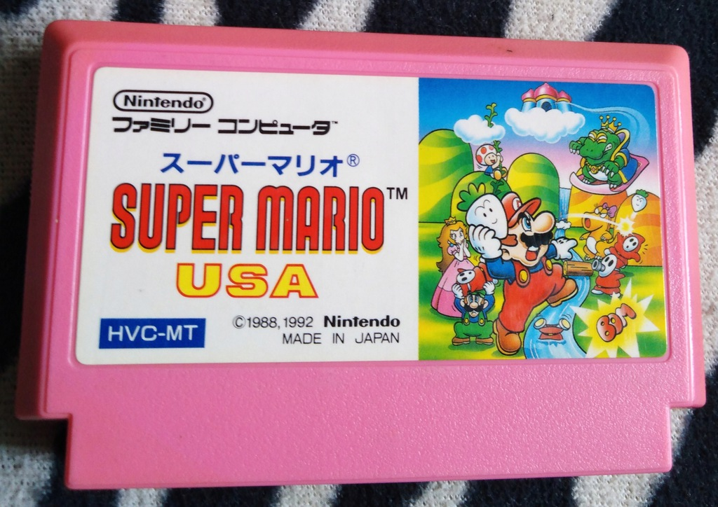 Kartridż (Cartrigde) Famicom - Super Mario USA -