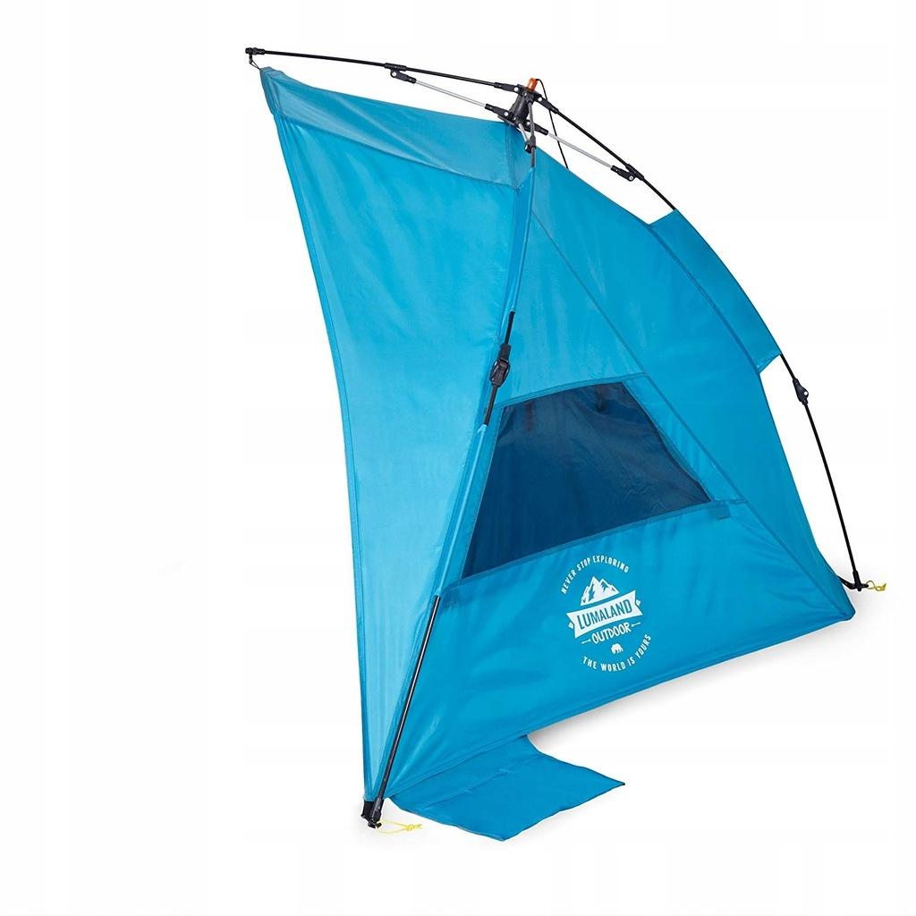 0820 Lumaland Strandmuschel namiot plażowy POP UP