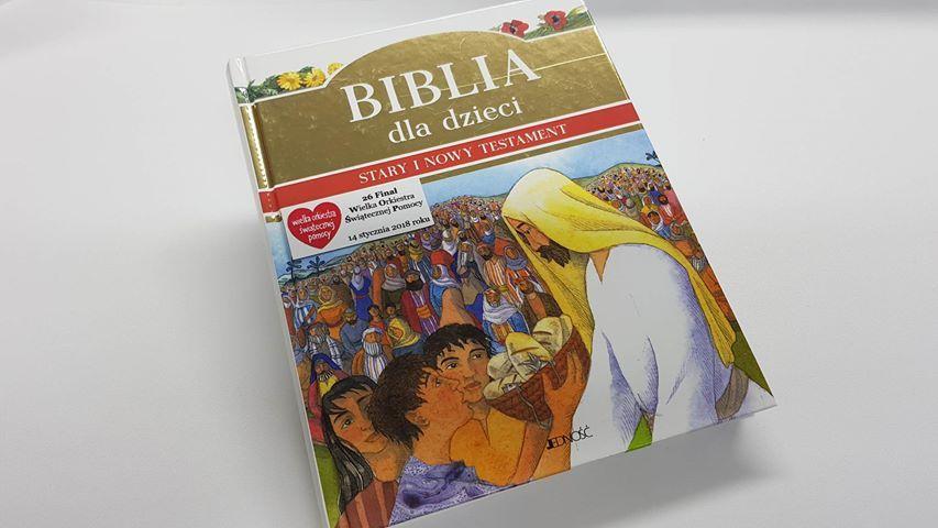 Biblia w opowiadaniach Stary Nowy Testam - WOŚP 35