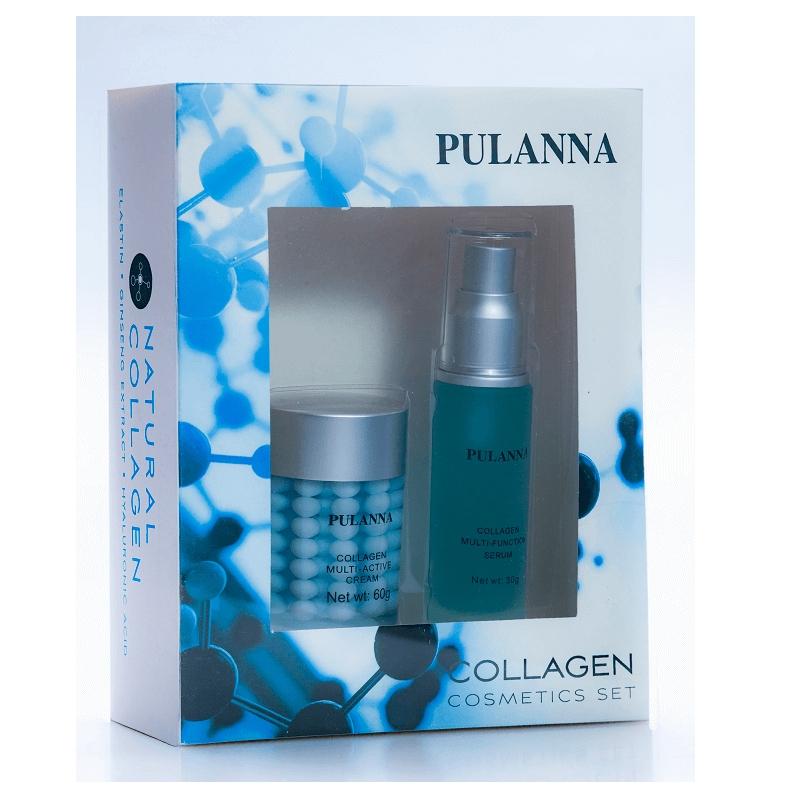 Zestaw 2 kosmetyków Pulanna z KOLAGENEM