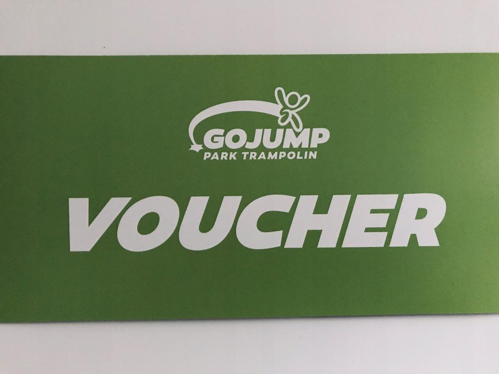 GoJump Park Trampolin - wejście na 1h
