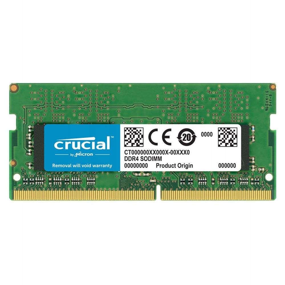 Pamięć Do laptopa Crucial DDR4 16GB 2400MHz CL17