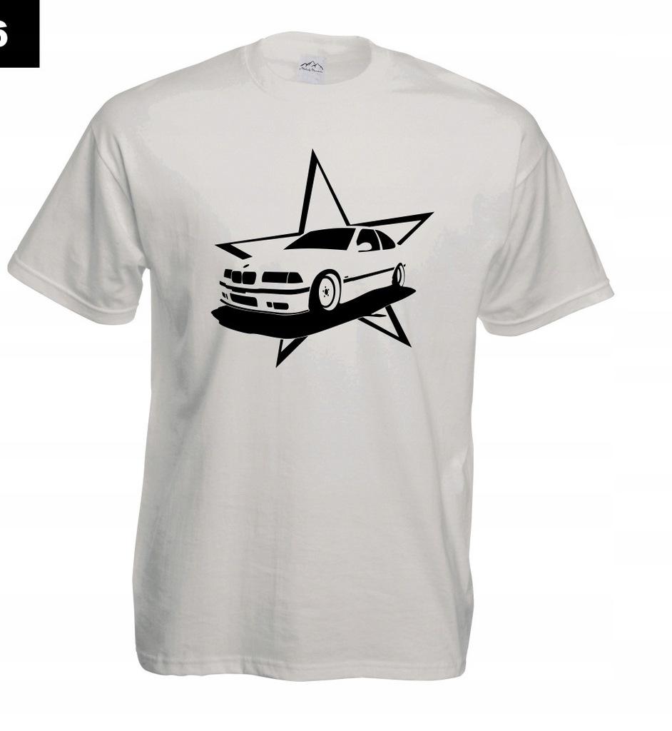 Koszulka z nadrukiem BMW GWIAZDA rozm.M MT326