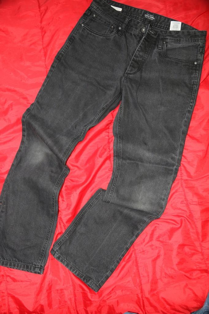Jack&Jones regular fit 32/30 czarne