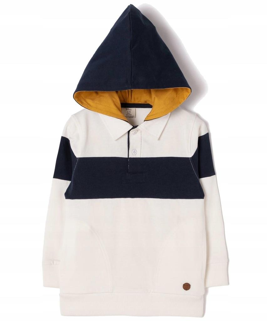Bluza chłopięca z kapturem Zippy 6842934 r 118