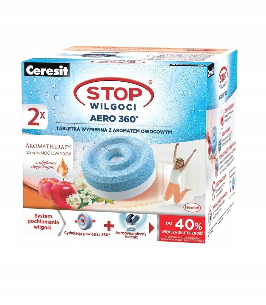 Pochłaniacz STOP Wilgoci AERO 2 tabletki owocowe