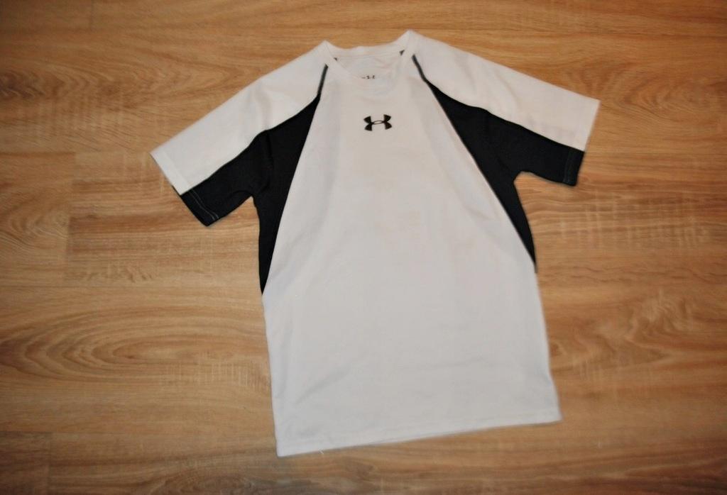 UNDER ARMOUR świetna bluzka koszulka LOGO 140