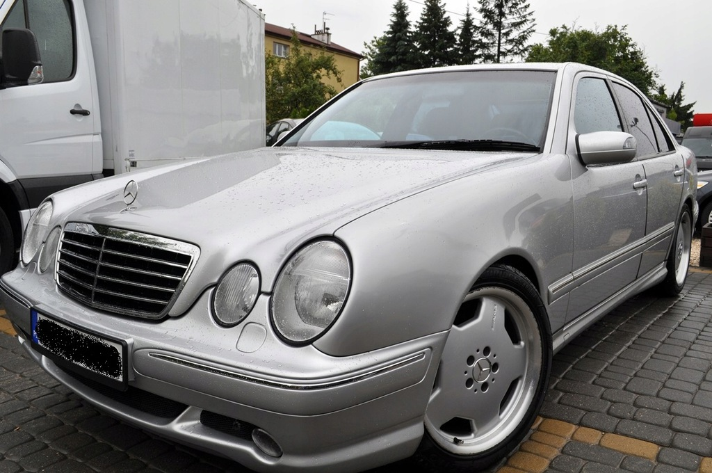 Mercedes W210 E55 Amg Import Japonia Stan Ideal 8365862014 Oficjalne Archiwum Allegro