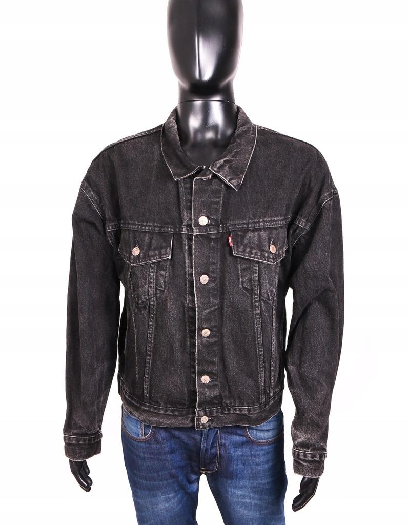 *Levis Kurtka Dżinsowa Męska Vintage Jeans Black L
