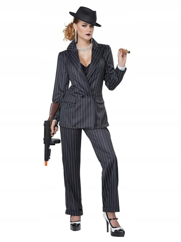 Strój Gangstera Kostium Lata 20 30 XL