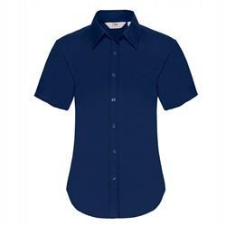 DAMSKA koszula OXFORD SHORT FRUIT granatowy 2XL