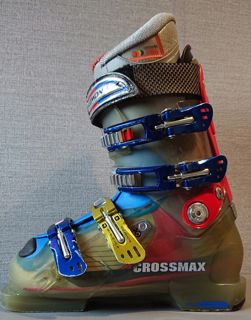 buty narciarskie SALOMON CROSSMAX; flex:110;r.24