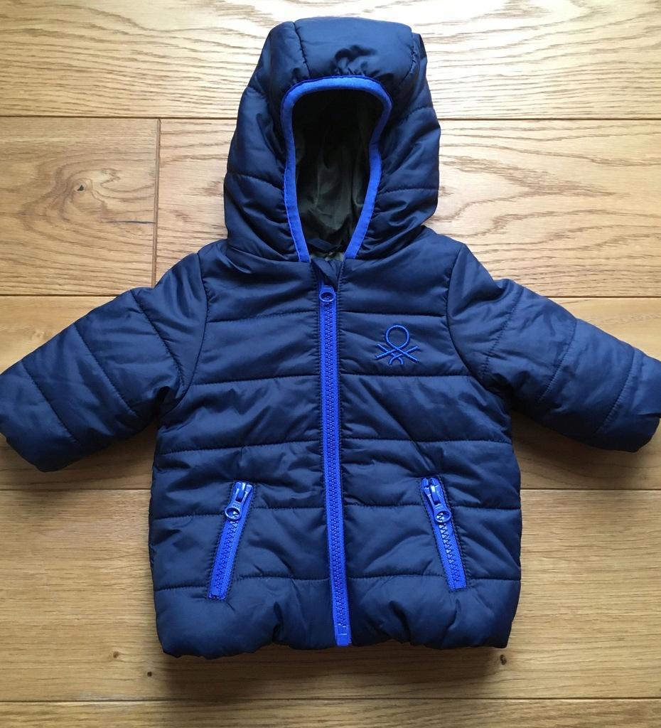 BENETTON BABY kurtka zimowa niemowlęca 56cm