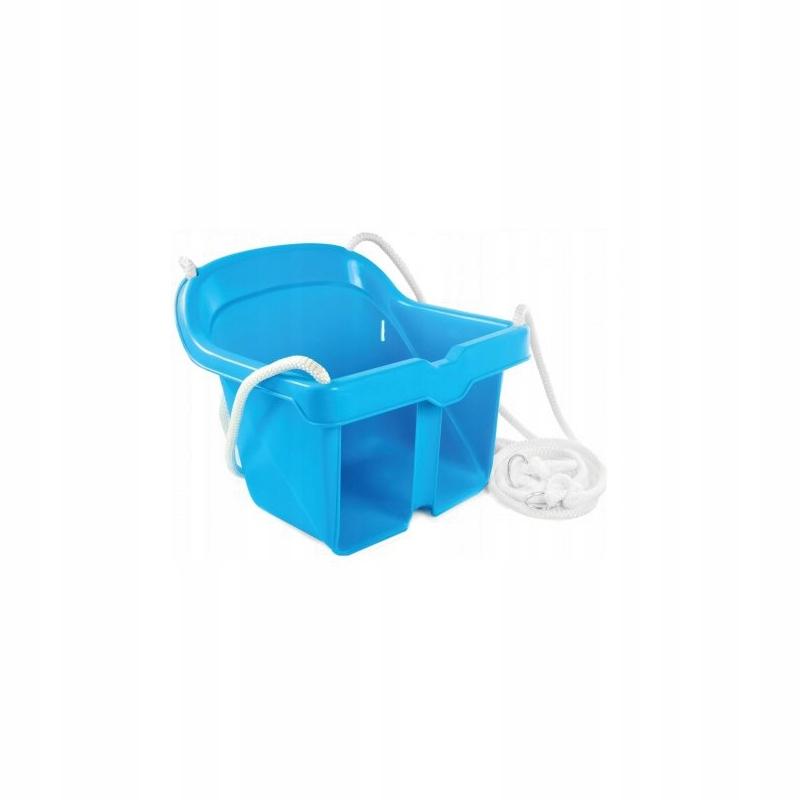 Huśtawka Kubełkowa Bezpieczna Niebieska