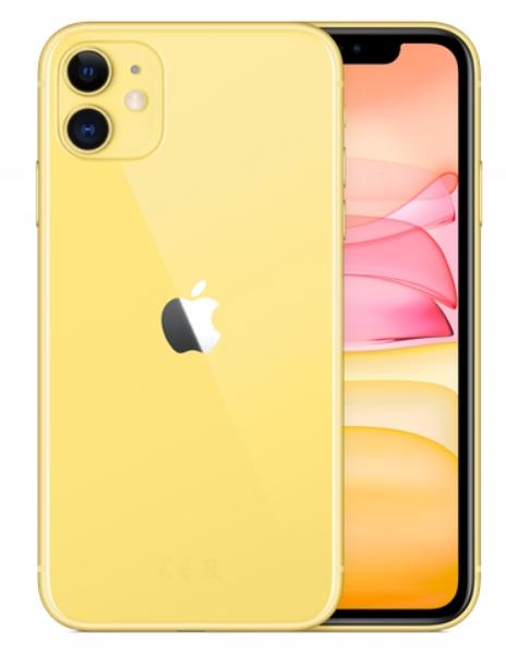 Apple iPhone 11 128gb Zółty Yellow 3250zł W-wa