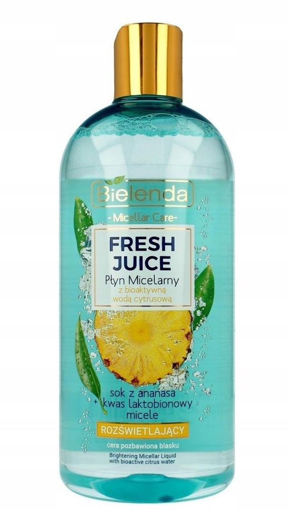 Bielenda Fresh Juice Płyn micelarny rozświetlający