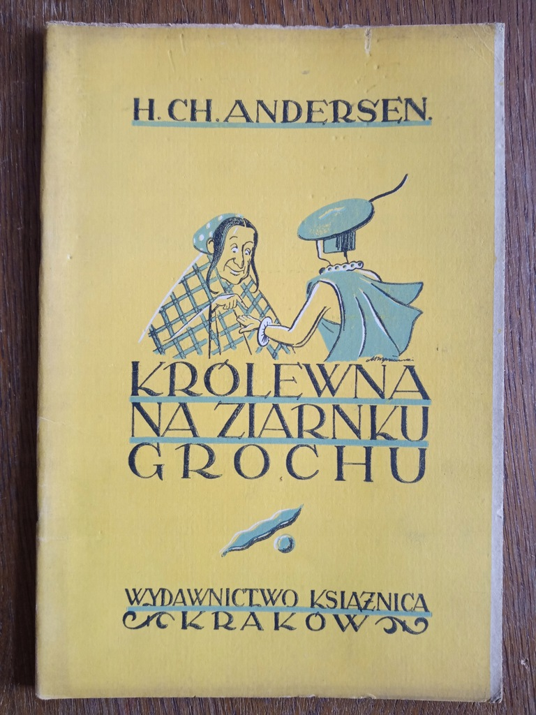Królewna na ziarnku grochu, Książnica Kraków