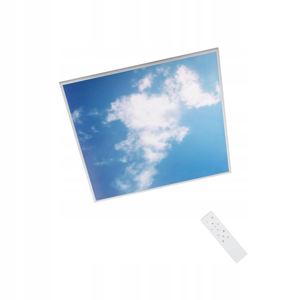 Panel LED plafon Efekt nieba +pilot GDAŃSK INSPIRE