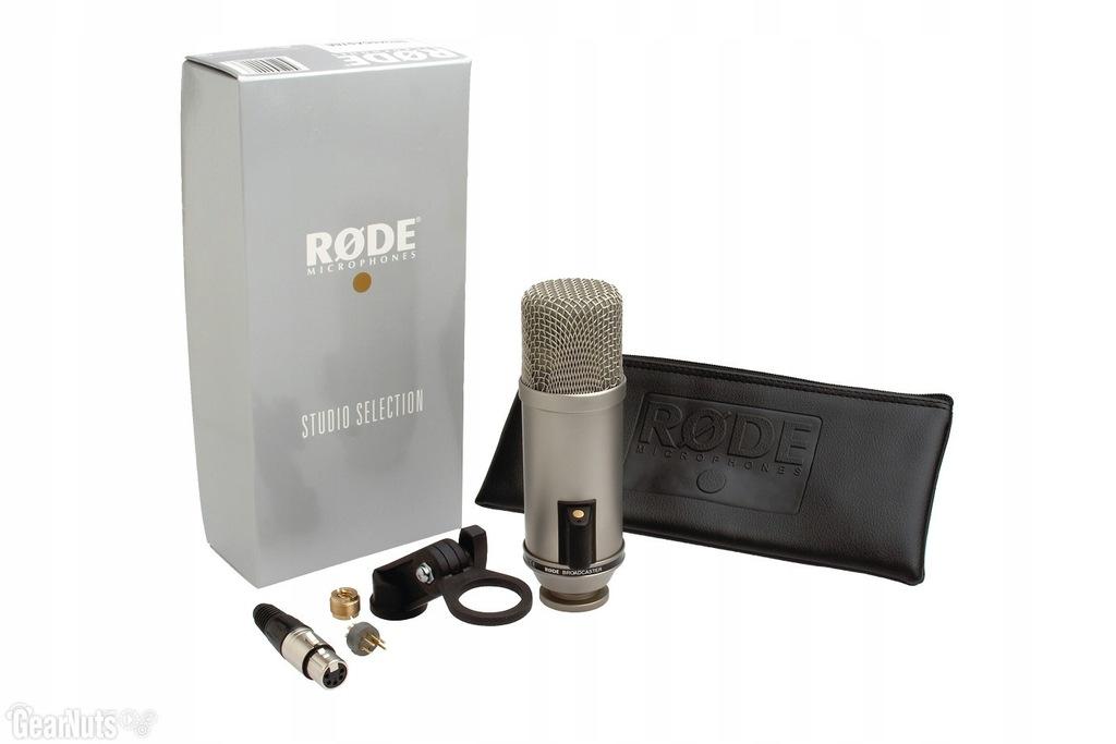 Rode Broadcaster Mikrofon pojemnościowy radiowy