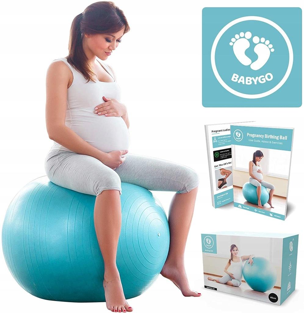 Pilka Babygo Do Cwiczen Dla Kobiet W Ciazy 65 Cm 9307324593 Oficjalne Archiwum Allegro
