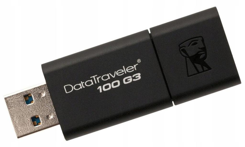 Pendrive Kingston DT100G3/256GB (256GB; USB 2.0; k