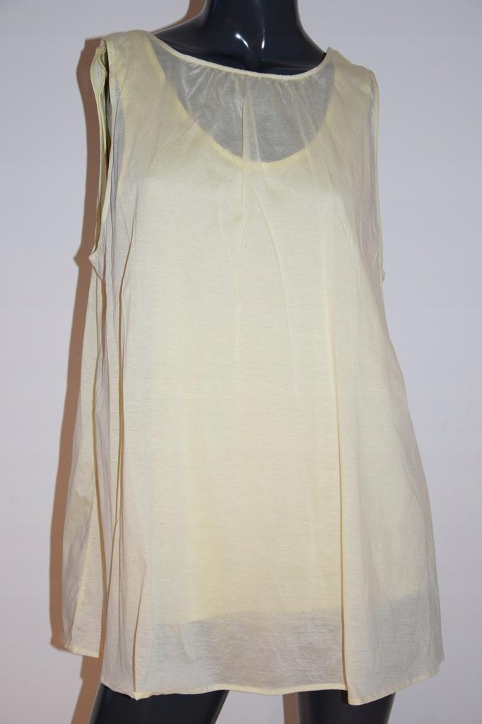 cos żółta bluzka bawełna lycell r.36/S