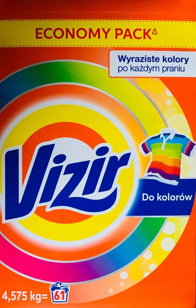 VIZIR Economy Pack KOLOR 61 prań NOWOŚĆ PRANIE HIT