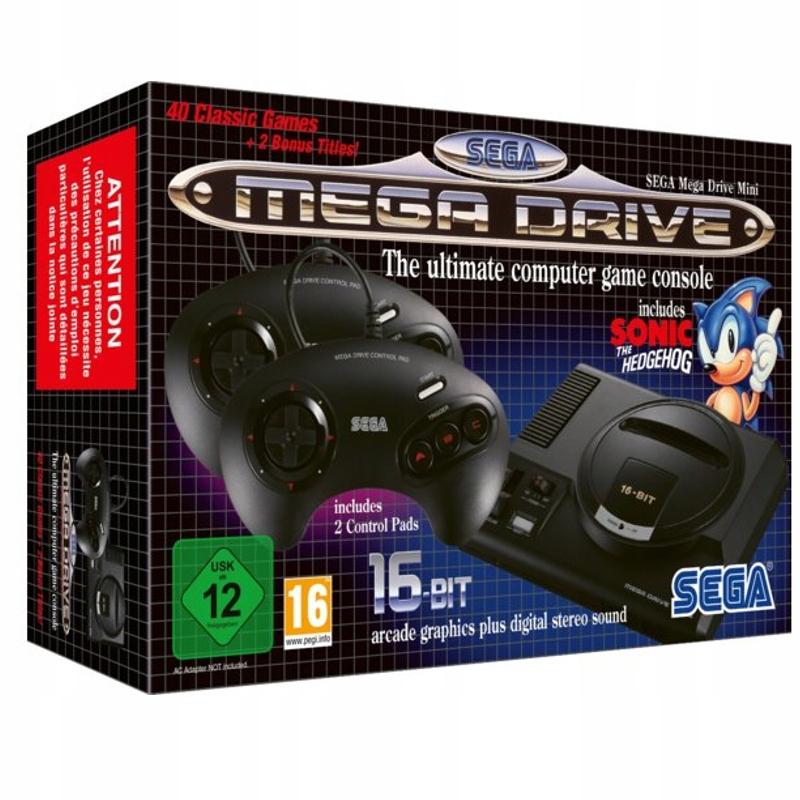 Sega Mega Drive Mini PIXELRETROSHOP
