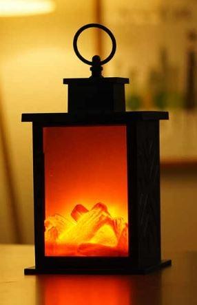 C148 LED symulowany efekt płomienia lampka