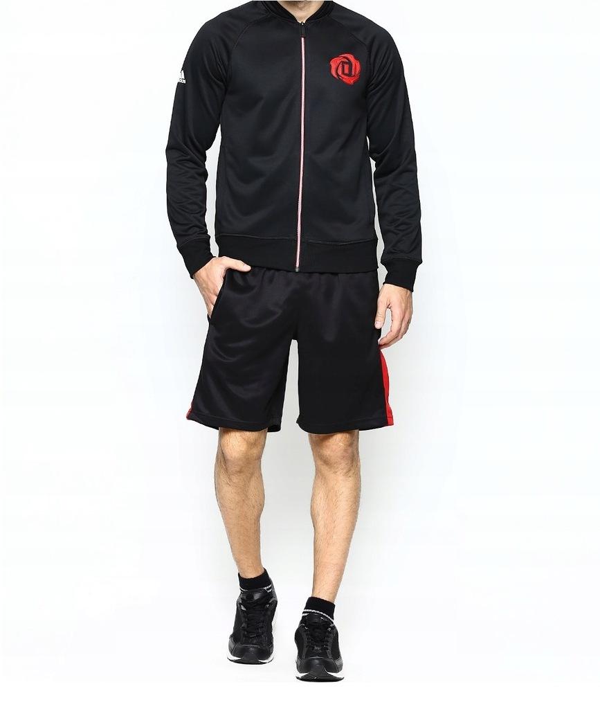 Adidas Bluza Męska NBA DERRICK ROSE Czarna 095 S