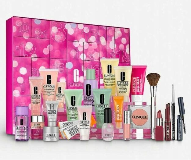 Clinique Kalendarz Adwentowy Kosmetyki Krem Tusz 8650405641 Oficjalne Archiwum Allegro