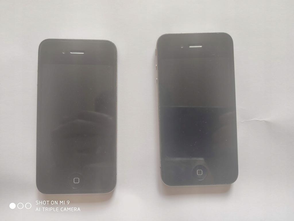 Iphone 4 dwie sztuki na części,do naprawy