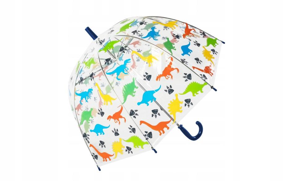 Parasolka przezroczysta DINOZAURY parasol transpar