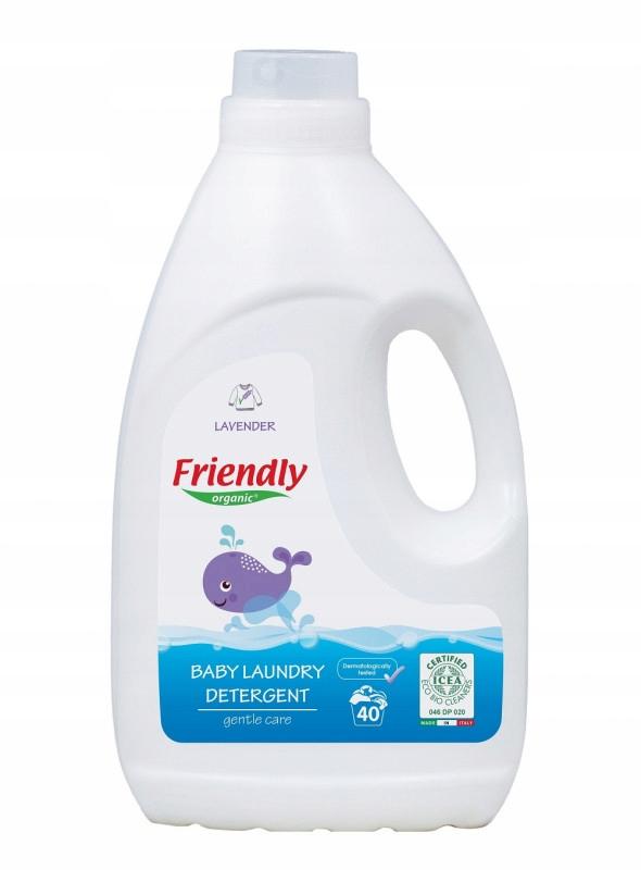 Friendly Organic, Płyn do prania ubranek dziecięcy