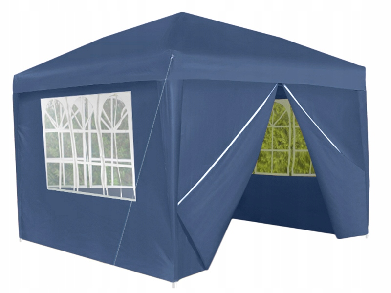 Pawilon Ogrodowy Namiot Ekspres Handlowy UV 3x3m 4 ścianki