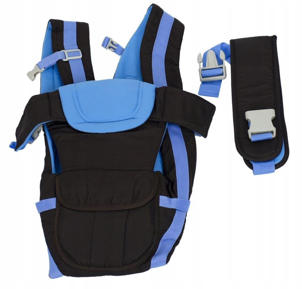 Nosidełko dla dzieci 4w1 0-30msc niebieskie