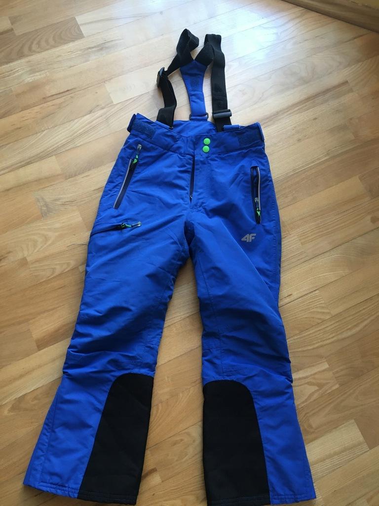 4F spodnie kurtka narty 128/134