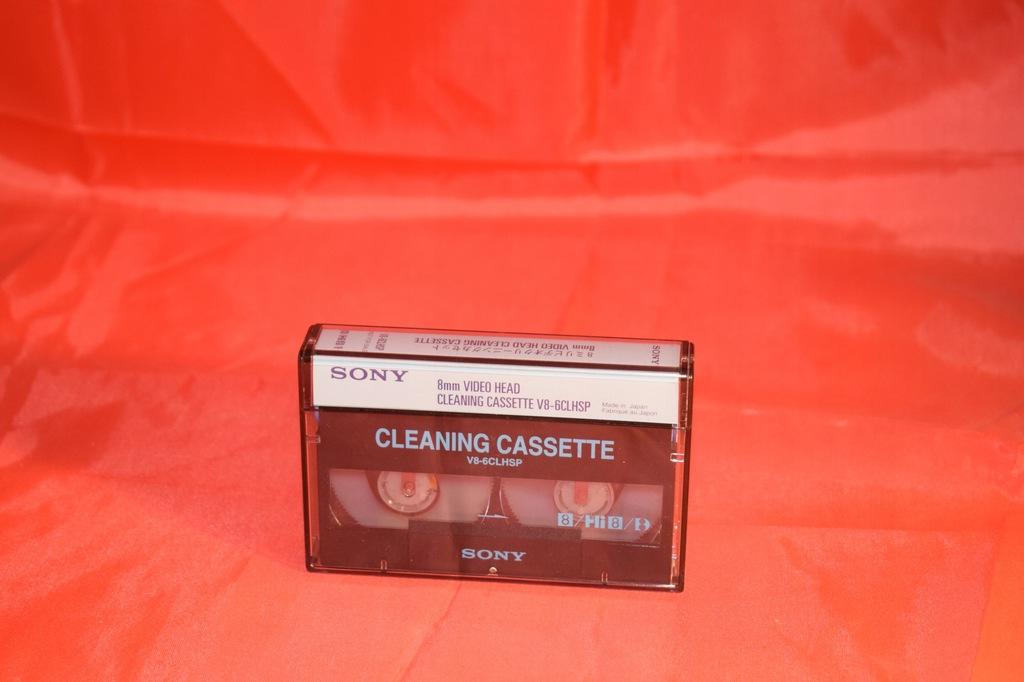 kaseta czyszaca sony do kamer dgital8 video8 hi8