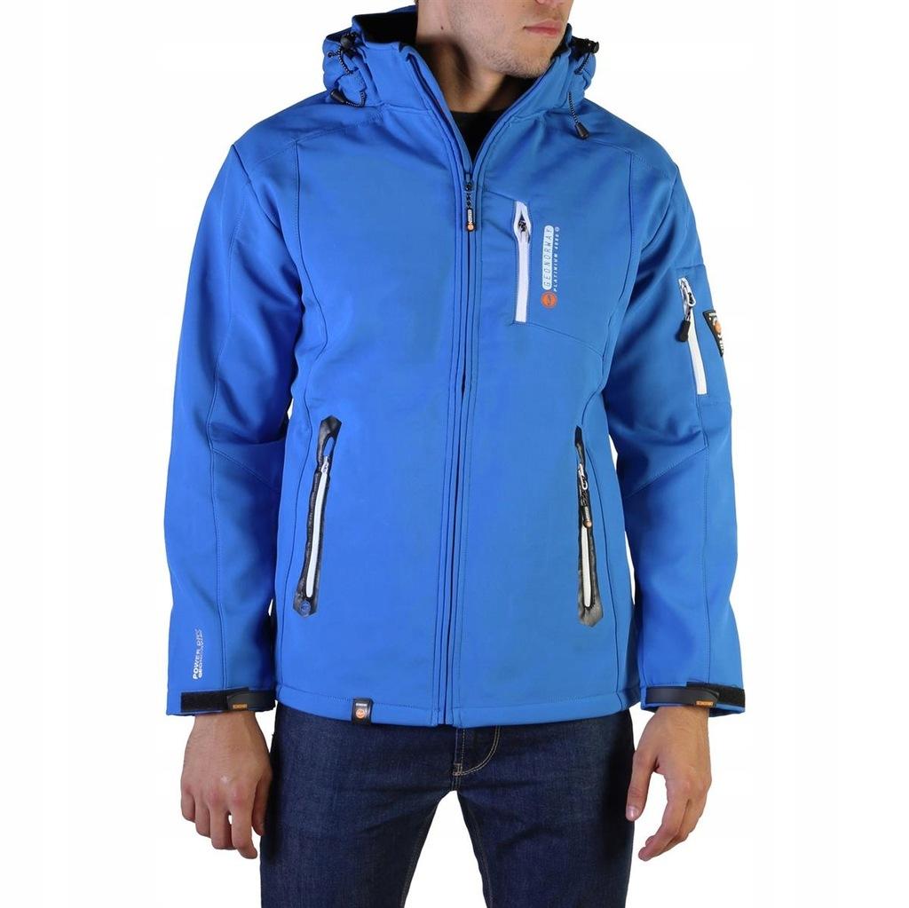 Geographical Norway kurtka męska niebieski M
