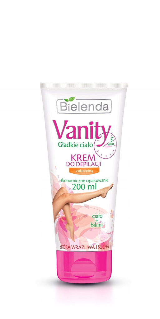 Bielenda Vanity krem do depilacji Alantoina 200ml