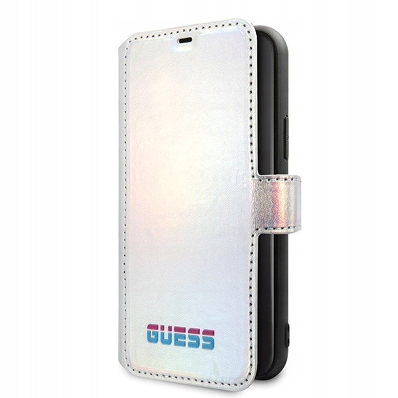 Guess Iridescent Booktype - Etui iPhone 11 Pro Max