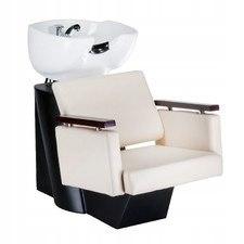 Myjnia fryzjerska MILO kremowa BD-7825 Profesjonal